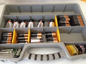 Battery Stash Beautified!