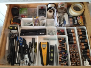 Utility Drawer Chaos Ended!