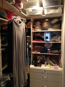 Back of Closet in Distress