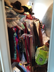 Cramped Closet #2 Before