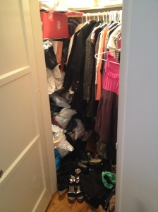 Cluttered Closet Take 1