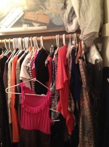 Cluttered Closet #1 Side View