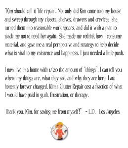 Kims Clutter Leslie Testimonial copy